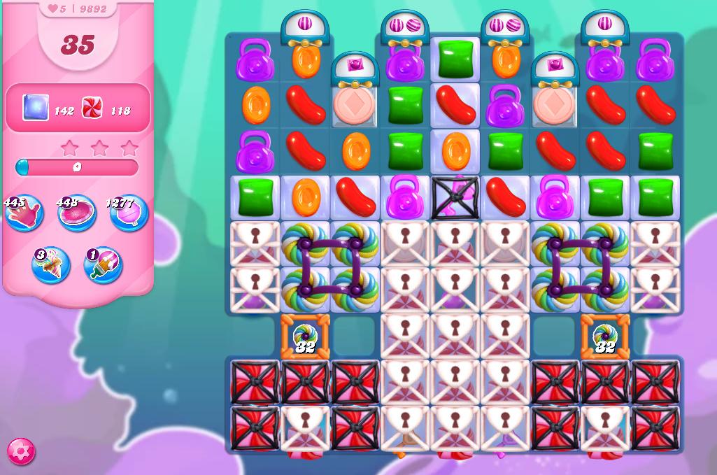 Candy Crush Saga level 9892
