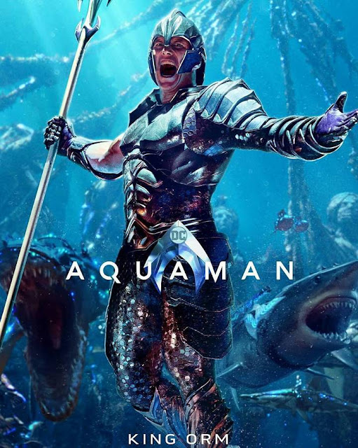 orm aquaman movie poster official villain