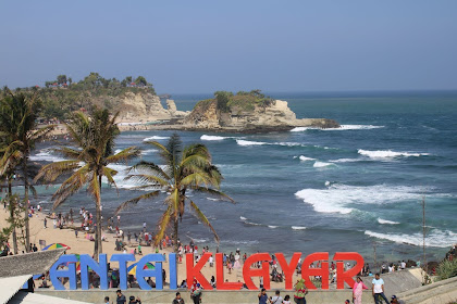 Pantai Klayar Pacitan Jawa Timur Seruling Samudra
