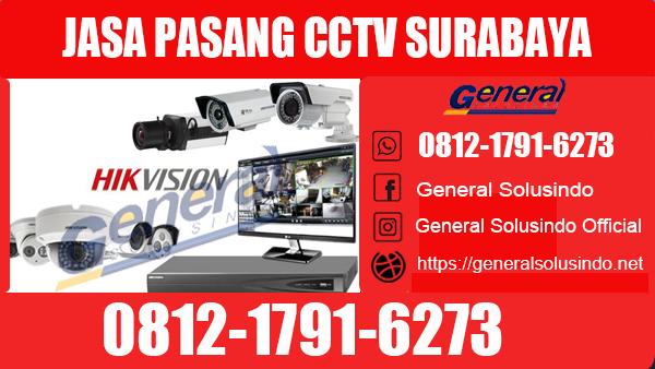 Jasa Pasang CCTV Surabaya Utara