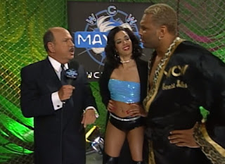 WCW Mayhem 2000 - Mean Gene interviewed The Cat and Miss Jones