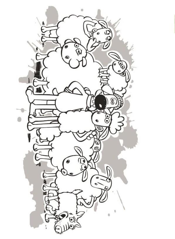 Shaun Das Schaf Ausmalbilder Malvorlagen