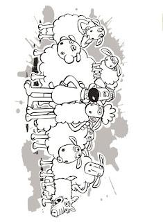 Ausmalbilder Shaun das Schaf Film zum Ausdrucken