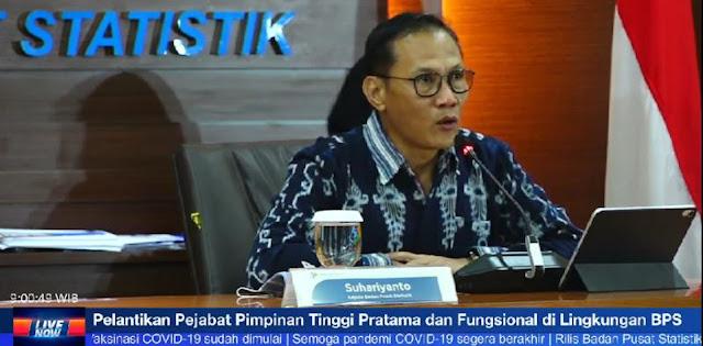 Ekonomi Indonesia Tahun 2020 Minus 2,07 Persen