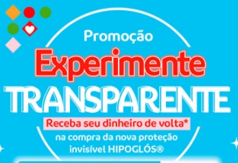 Cadastrar Promoção Hipoglós Transparente Grátis Experimentar