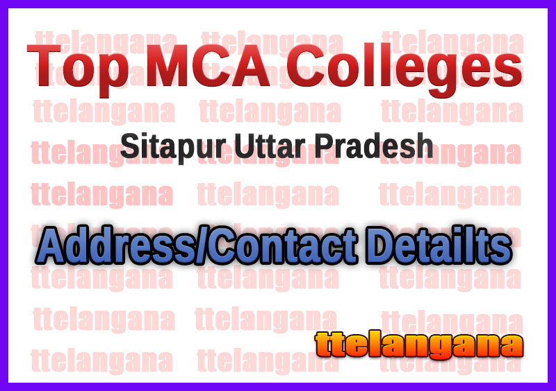 Top MCA Colleges in Sitapur Uttar Pradesh