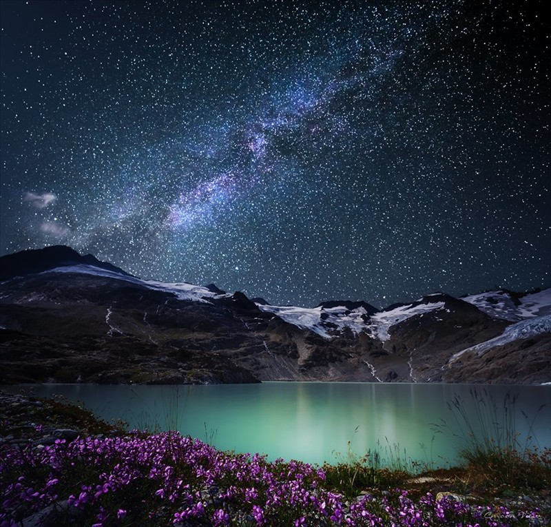 Beautiful nature in the night 001