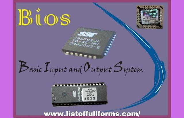 BIOS Full Form