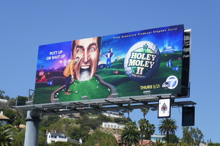 Holey Moley II Sequel billboard