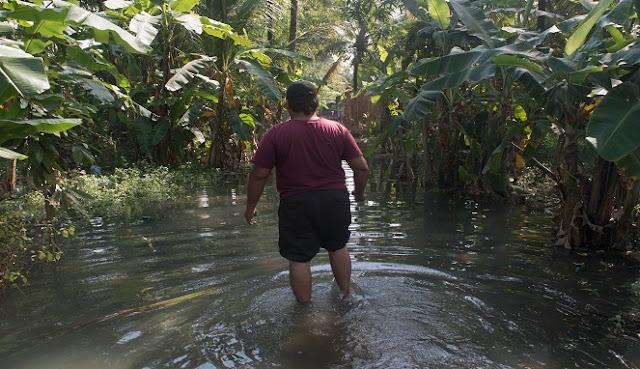 Hampir 18 Tahun sudah warga Desa Kedungtawon merasakan Banjir dimusim Kemarau