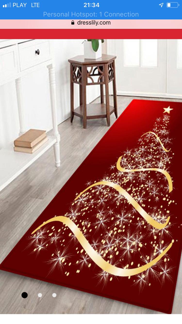 Christmas Floor Rug
