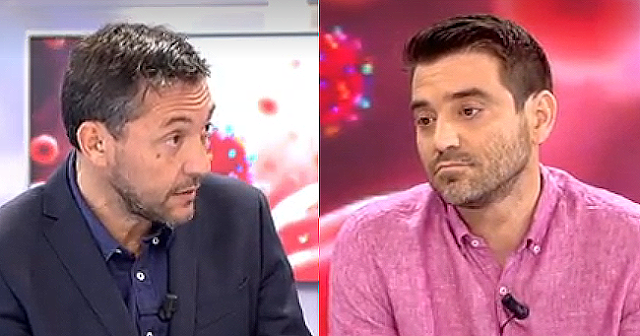 Magistral lección periodística de Javier Ruiz a Javier Negre en televisión