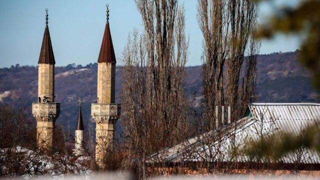 Дворец крымских ханов (Ханский дворец) в Бахчисарае, Крым, Украина