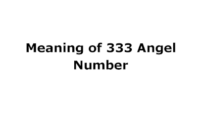 meaning of 333