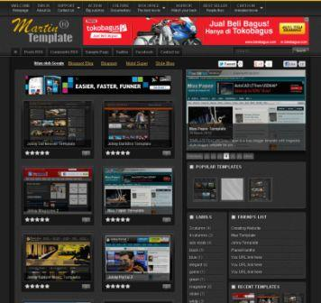Martin Xml Blogger Template Free Download For All