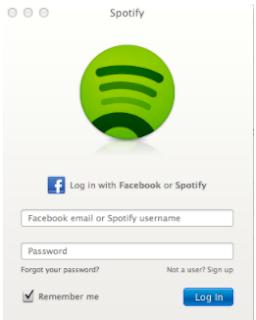 Grafik Terbuka Facebook Spotify