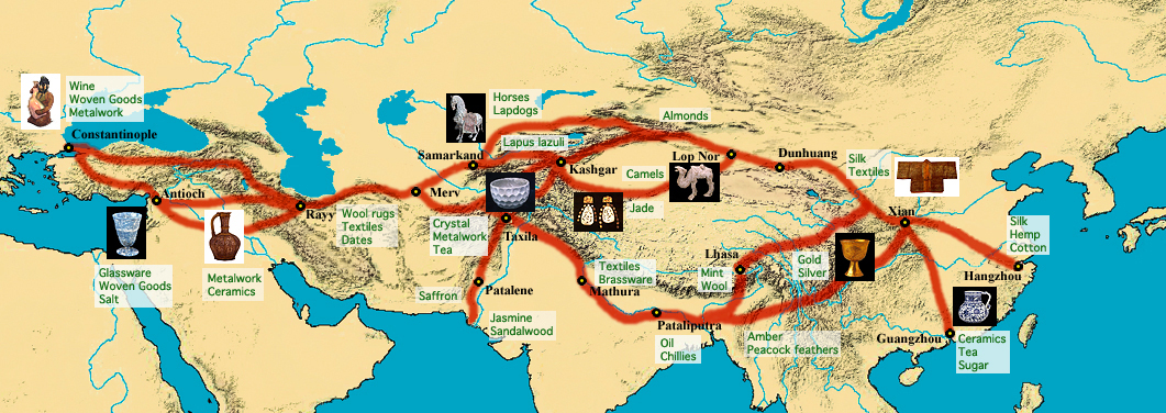 Around The World In 80 Days Map Of Route - Tourism Company ...