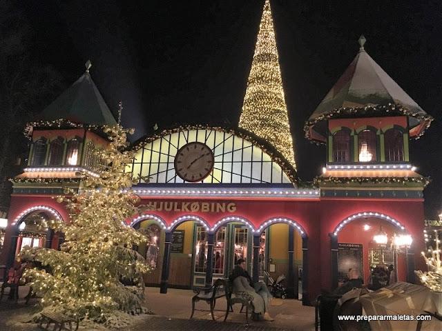 decoración navidad tivoli copenhague