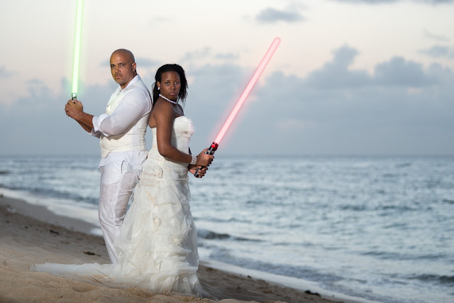 Guadeloupe mariage Star Wars
