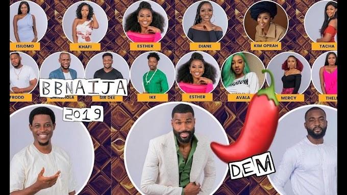 BBNaija: Mercy, Seyi, Frodd escape, make it to finals