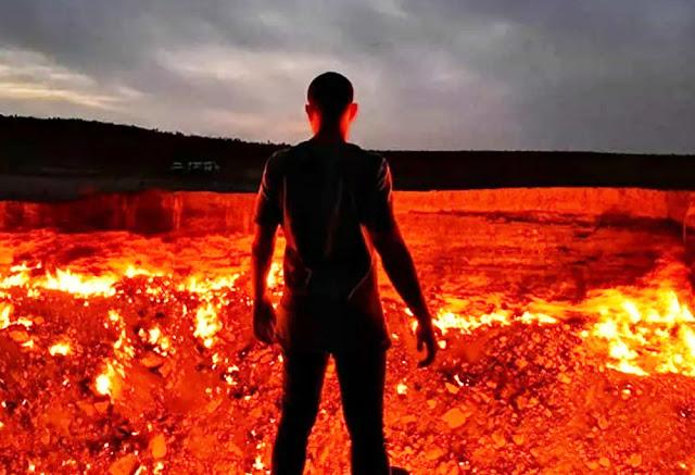 porta inferno turcomenistao darvaz uniao sovietica mina abandonada chamas