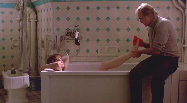 Maria Schneider, Marlon Brando, Bernardo Bertolucci, bath tub