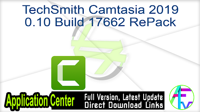 TechSmith Camtasia 2019 0.10 Build 17662 RePack