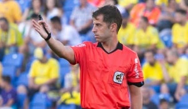 El Málaga - Almería será pitado por Ávalos Barrera y en el VAR estará Monescillo
