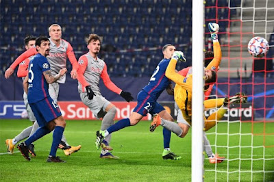 ملخص واهداف مباراة اتلتيكو مدريد وسالزبورج (2-0) دوري ابطال اوروبا