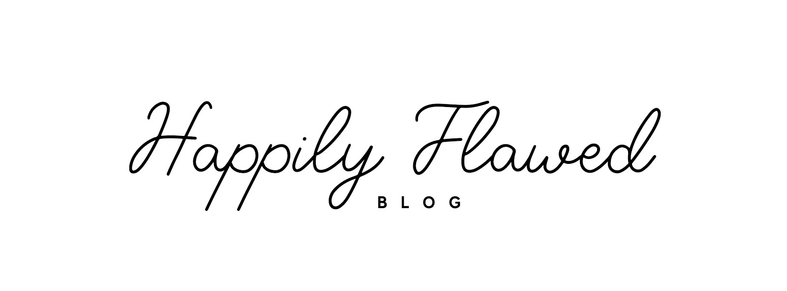 Happily Flawed Blog