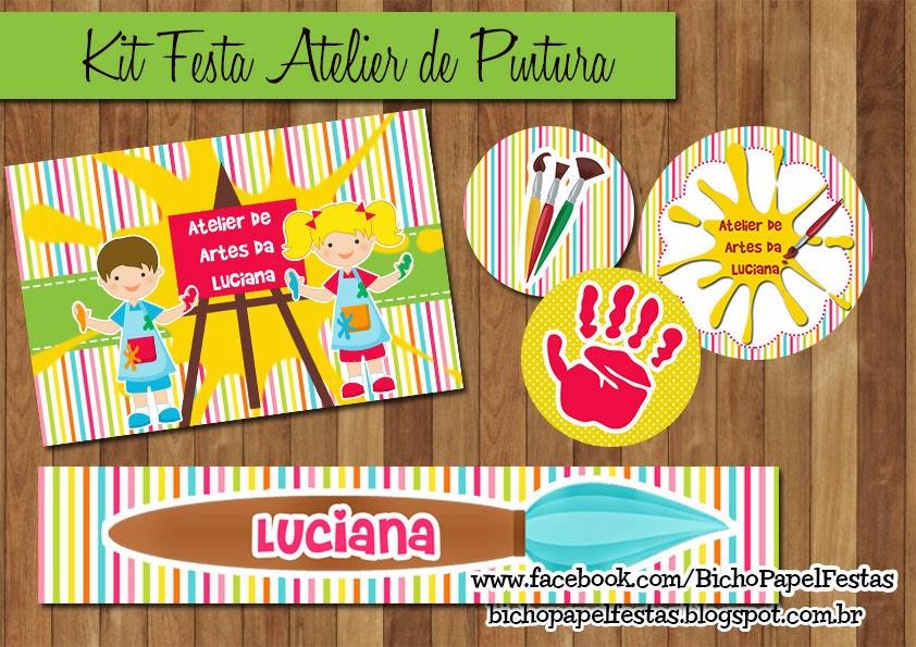 Kit Festa Atelier de Pintura