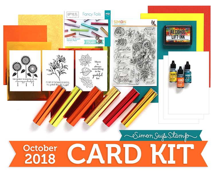 October Card Kit