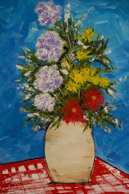Flores, de Clameli (foto de Ana Colla)