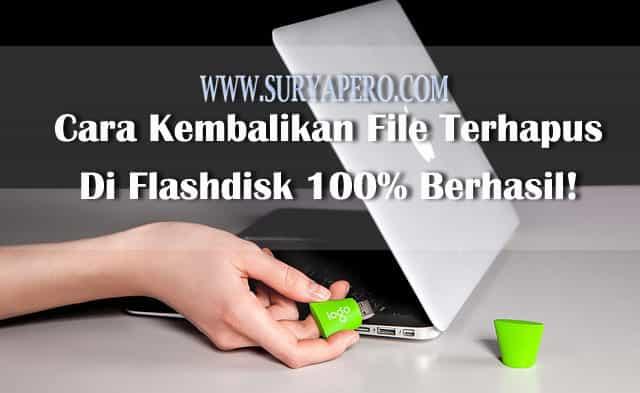 file yang tidak sengaja terhapus di flashdisk