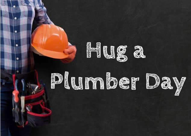 National Hug a Plumber Day Wishes For Facebook