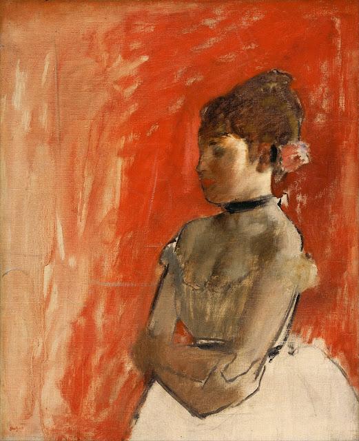 Эдгар Дега - Балерина со скрещенными руками (ок.1872)
