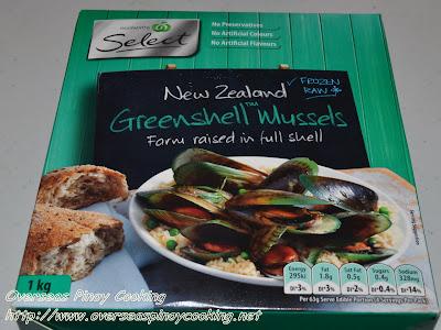 Frozen Green Mussel