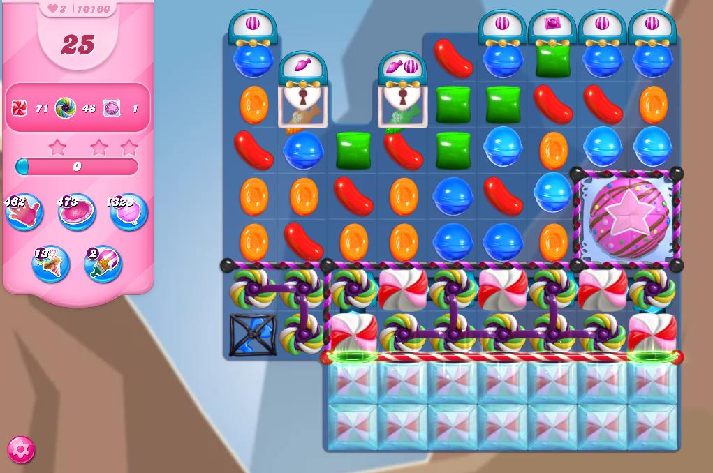 Candy Crush Saga level 10160