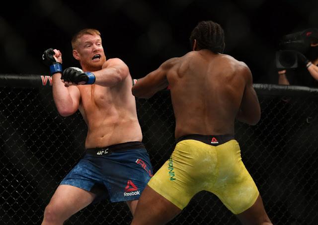 Ryan Spann blows Sam Alvey UFC 249