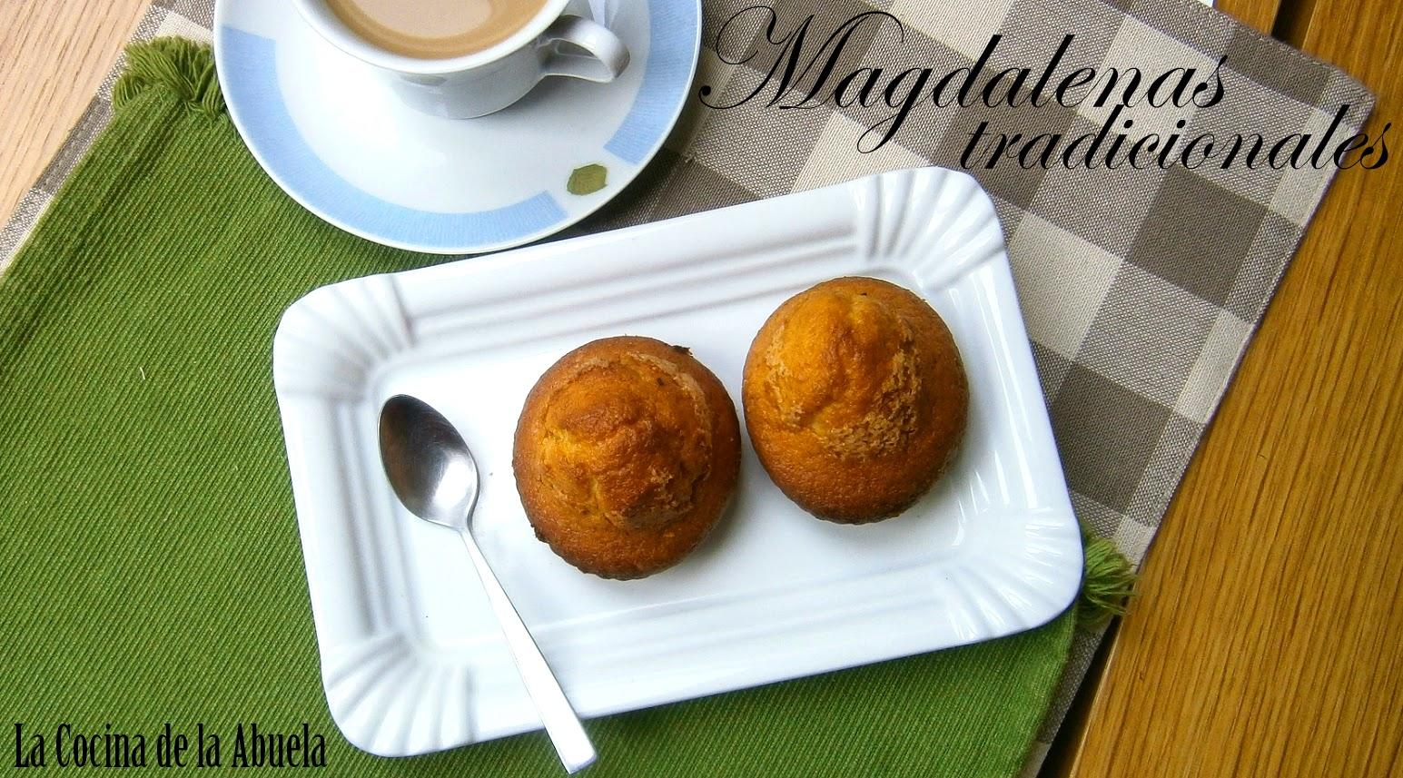 Magdalenas Tradicionales.