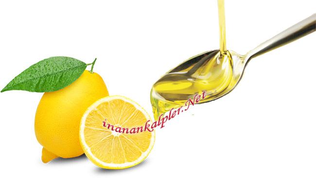 Zeytinyağı Ve Limon Karışımının Sağlık İçin Faydaları - www.inanankalpler.net