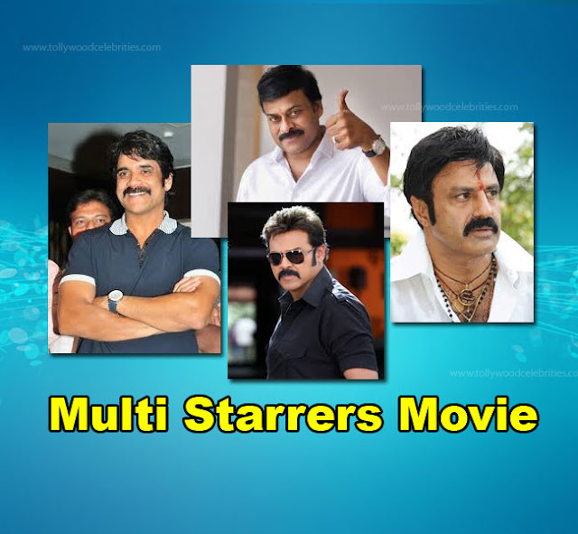 Telugu Top Actors Multi Starrers Movie.