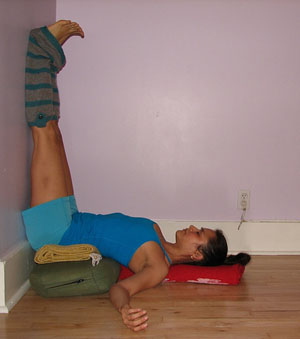 maggie's pages restoritive yoga is sooo good of me