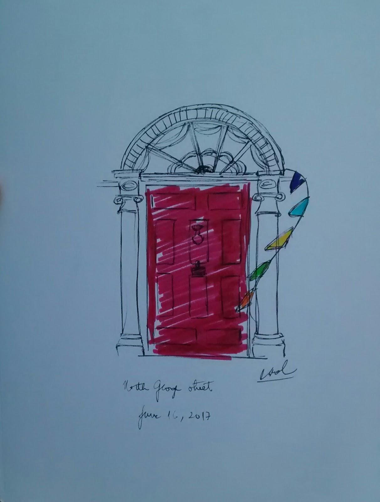 Dublin Sketchers Group: June 2017