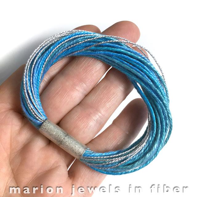 Multi Strand Linen Bracelet Tutorial