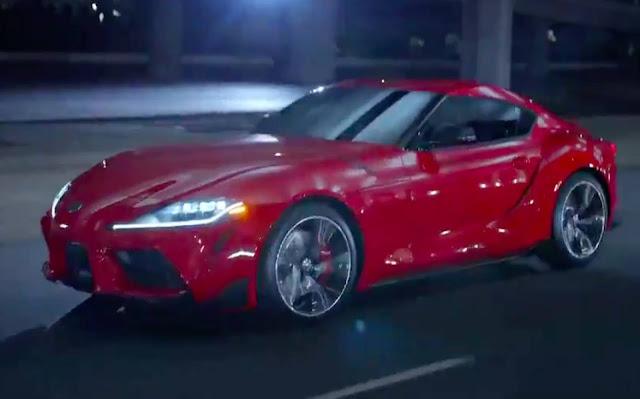 Novo Toyota Supra 2020