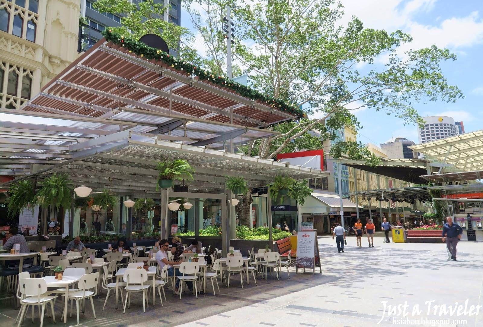 布里斯本-景點-推薦-皇后街-女王街-逛街購物-旅遊-自由行-澳洲-Brisbane-Queen-Street-Travel-Tourist-Attraction-Australia