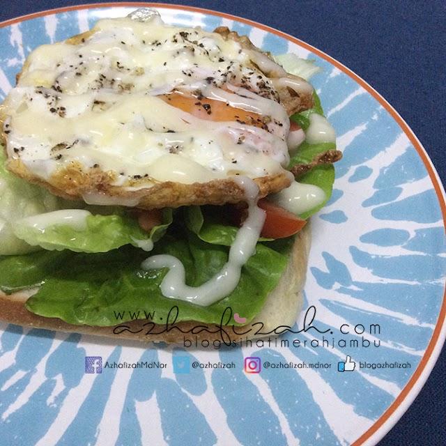 Sandwich Telur Goreng