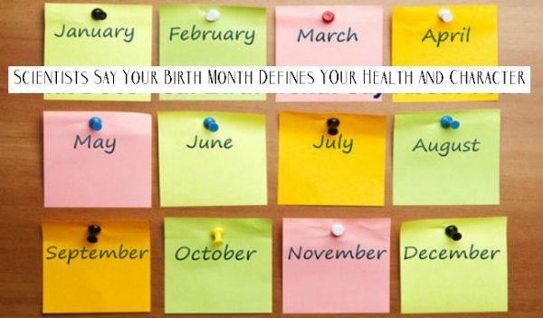 Month Of Birth Defines Your Character