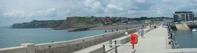 Panoramic view of West Bay